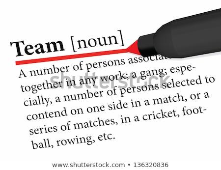 辞書 · 定義 · 成功した · ビジネス · 言葉 · 綴り - ストックフォト © istanbul2009