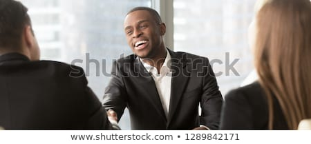 Cropped image of customer support excutive Stock photo © stockyimages