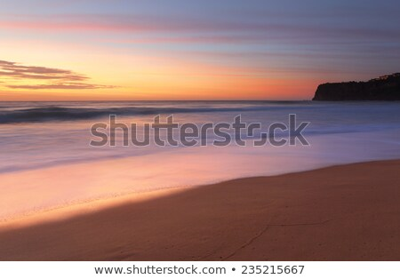 Summer sunrise Bungan Beach Australia Stock photo © lovleah