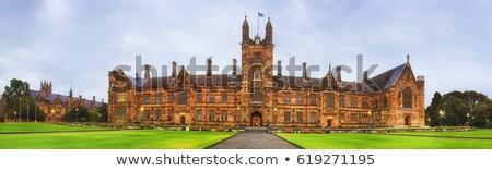 фасад исторический здании окна классический стиль Сток-фото © remik44992