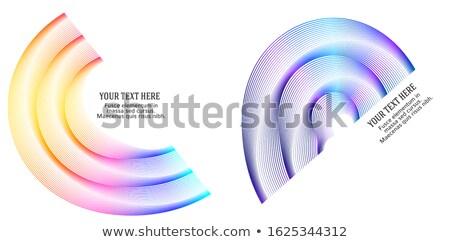 nowoczesne · sprawozdanie · szablon · linie · circles - zdjęcia stock © anna_leni