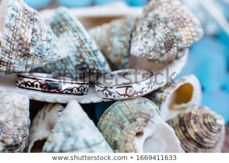Сток-фото: красивой · невеста · бумаги · цветы · украшение · нежный