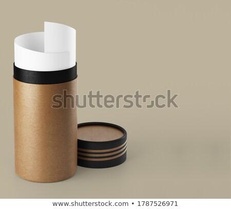 tekercs · irodalom · szimbólum · öreg · vászon · papír - stock fotó © shawlinmohd