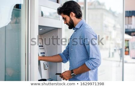 man with euro cash money stock photo © dolgachov