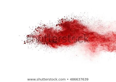 Karanlık kırmızı kahverengi doku soyut kan Stok fotoğraf © PokerMan