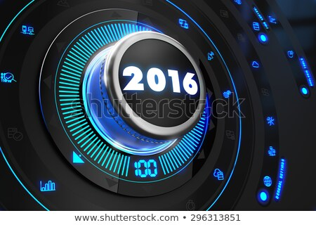 controller 2016 on black control console stock photo © tashatuvango