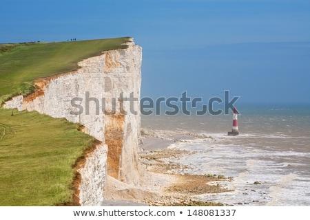 Fehér kréta sziklák fej Anglia Sussex Stock fotó © CaptureLight