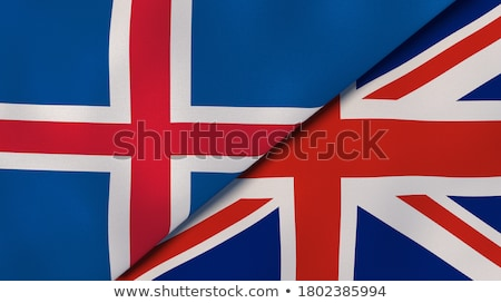 United Kingdom and Iceland Flags  Stock photo © Istanbul2009