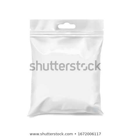 Fehér táska izolált nők doboz fekete Stock fotó © shutswis