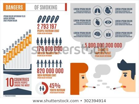 Stockfoto: Jeugd · roken · symbool · groep · sigaret · marihuana