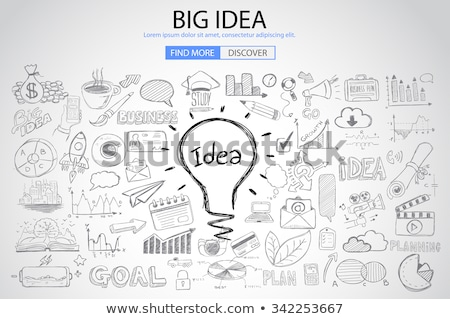 Business Concept with Doodle design style :finding solution Stock photo © DavidArts