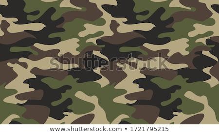 Soldier in brown uniform Stock photo © bluering