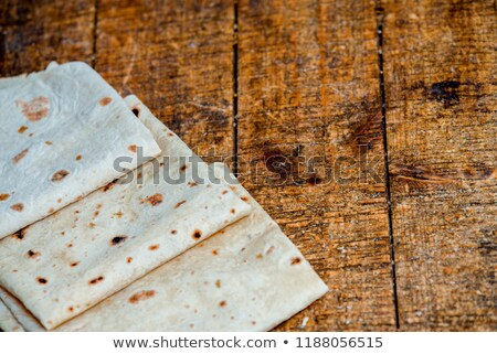 スライス 白パン 食品 背景 小麦 朝食 ストックフォト © OleksandrO