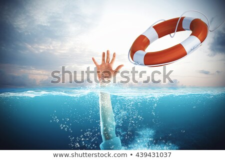 Help businessman falls Stock photo © alphaspirit