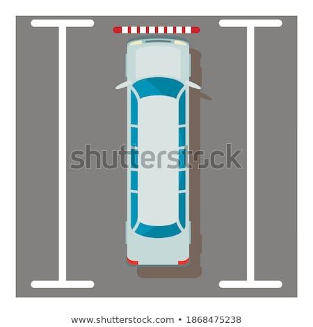 Zarif araç örnek beyaz araba arka plan Stok fotoğraf © bluering