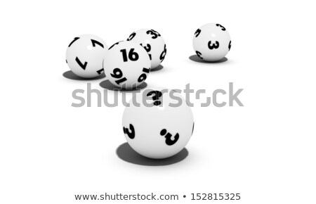Lottery balls question Stock photo © Oakozhan