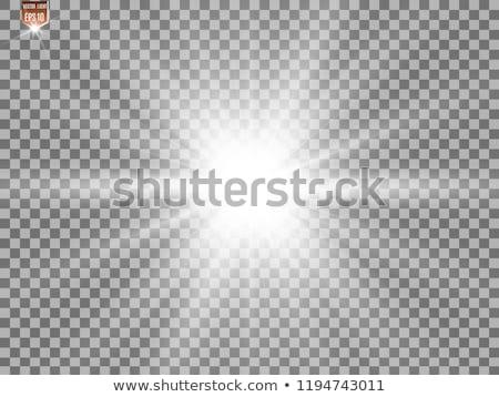 Stock fotó: Fényes · fényeffektusok · gyűjtemény · színes · fekete · sablon