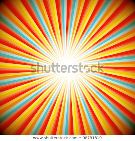 Blue color design with a burst. vector Stock photo © fresh_5265954