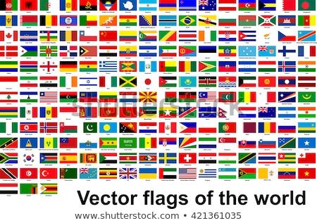 USA officieel vlag metaal Verenigde Staten amerika Stockfoto © molaruso