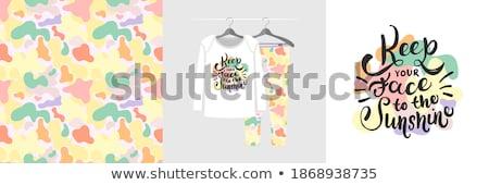 рубашку вектора Вдохновенный цитировать стороны Сток-фото © frescomovie