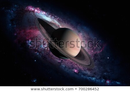Solar System - Saturn. It is the sixth planet from the Sun. Stock photo © NASA_images