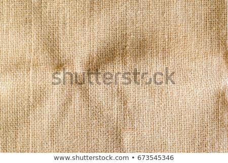wrinkled Hessian sack cloth or gunny sack Stock photo © milsiart