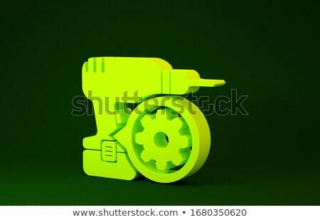 Karbantartás utasítás mechanizmus fémes sebességváltó 3D Stock fotó © tashatuvango