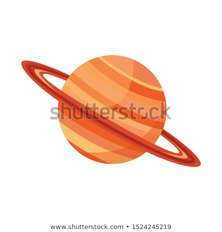 Cartoon Saturn Sign stock photo © cthoman