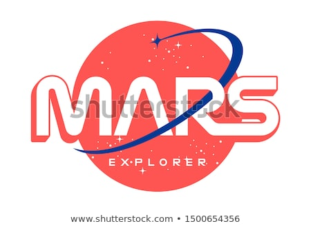 űr hold expedíció utazó rakéta vektor Stock fotó © vector1st