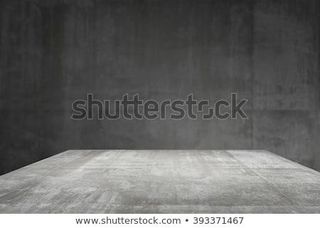 Bulanık gri çatı katı duvar çimento doku Stok fotoğraf © vinnstock