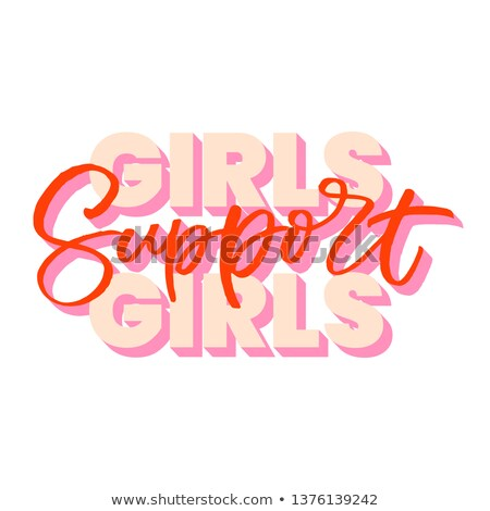 Supporting girl Stock photo © pressmaster