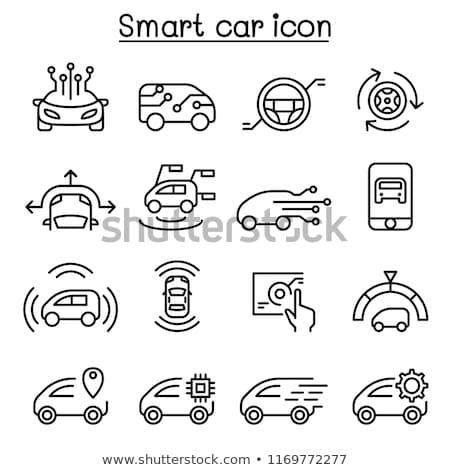 Smart Car Network Data Stock photo © limbi007