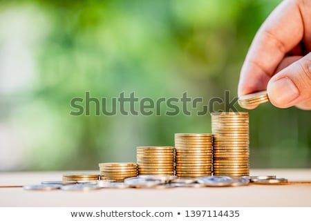 Jar with Dollars and Coins Investment Investors Stock photo © robuart