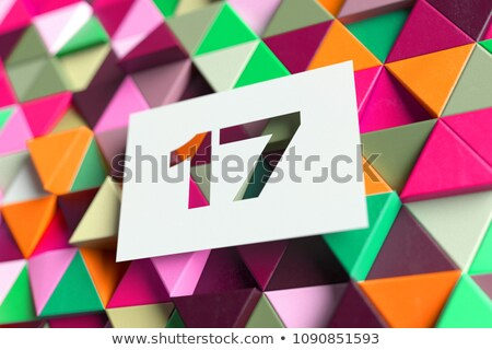 Count the triangles 17 Stock photo © Olena