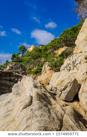 海景 リゾート 町 水 太陽 風景 ストックフォト © boggy