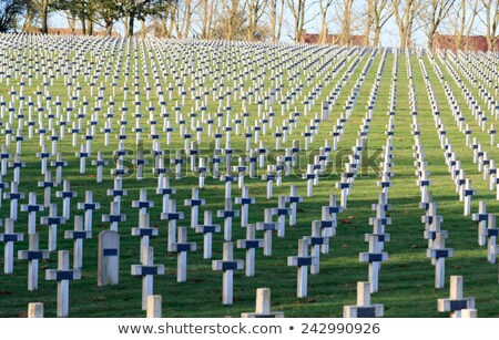 Fransız askerler dünya savaş görmek Bina Stok fotoğraf © boggy
