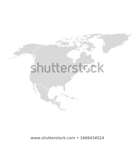 Cuba country map, simple black silhouette on gray Stock photo © evgeny89