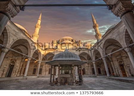 Prince moschea turco fontana mezzo Istanbul Foto d'archivio © rognar