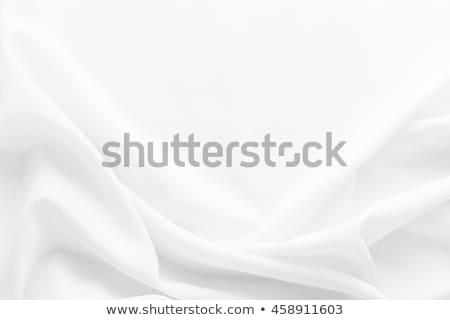 Majestic white silk textile background Stock photo © ozaiachin