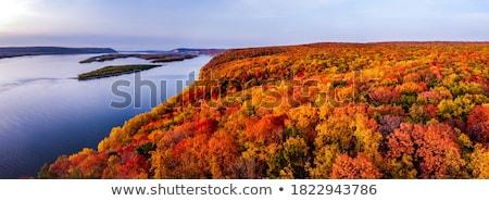 Mountains autumn landscape Stock photo © blasbike