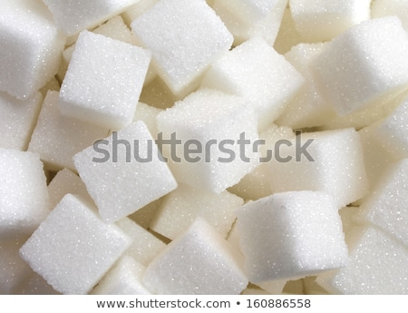 lump sugar stacks Stock photo © prill