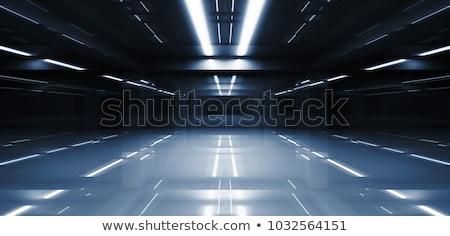 Tunnel passage bâtiment Rock pierre étage Photo stock © prill