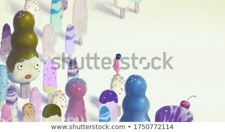 Imagining the world Stock photo © silent47