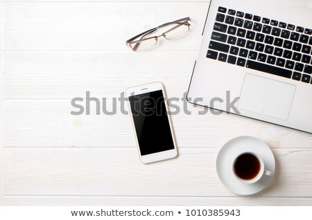 pen notebook and cell phone stock photo © courtyardpix
