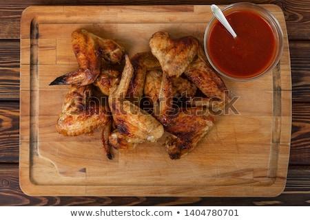 Red hot chili sauce Stock photo © yelenayemchuk