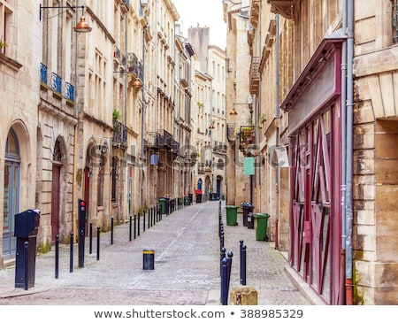 Bordeau modern öreg városkép ősi modern építészet Stock fotó © smithore