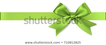 Green ribbon Stock photo © broker