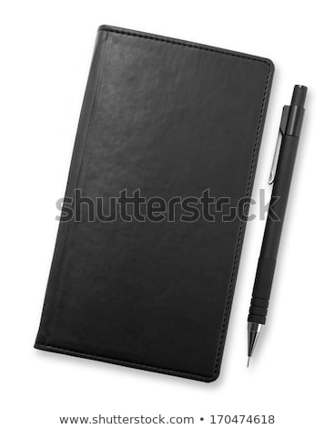 Silvery pen and note-book Stock photo © ruzanna