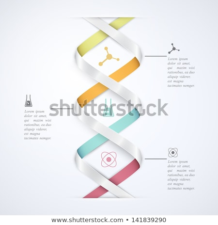 Origami business abstract ontwerp web geneeskunde Stockfoto © djemphoto