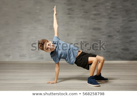 ragazzo · dancing · dance · bambino · arte · suit - foto d'archivio © zzve